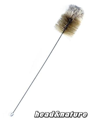 Cleaning brush woolen head 9cm