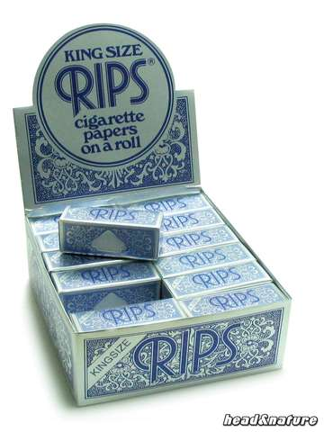 Rips Rolls blue kingsize - 24 x
