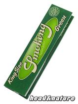 Smoking Green King Size Papers #0