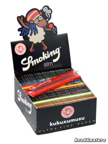 Smoking Slim kukuxumusu - 50 x