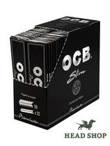 OCB Premium long slim black - 50 x #0
