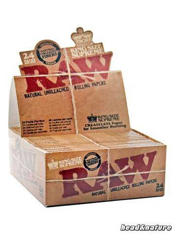 RAW Papers King Size Supreme  - 24 x