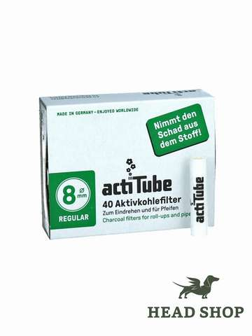 actiTube activated Carbon Filters 40 pieces