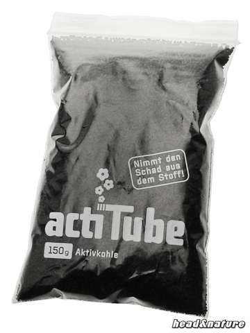 actiTube activated carbon 150g