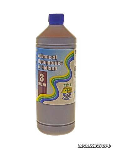 Advanced Hydroponics Dutch Formula 3 - Micro 1L