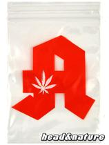 "Zip Bags ""Pharmacy"" 60 x 80mm 100 pcs. #0"