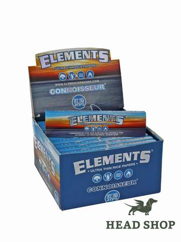Elements King Size Slim papers + filter tips - 24 x