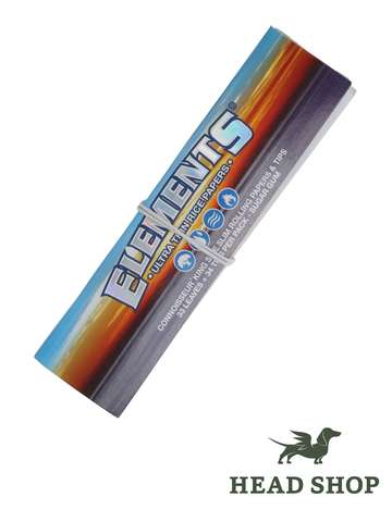Elements King Size Slim Papers + filter tips