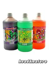 GHE Flora Set, 3 x 1 Liter (hard water) #0