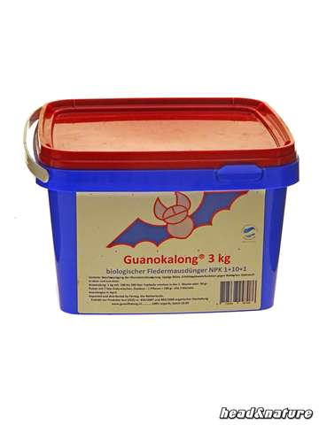 Guanokalong Powder Bat Guano 3 kg