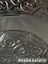 Metal Hashtray with tendril motif #2