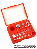 Calibration weights Set with storage box #0