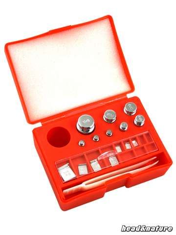 Calibration weights Set with storage box