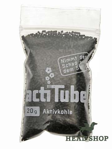 actiTube activated carbon 20g