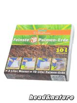 PopUp Soil for Palms & Foliage, 10 liter pack, compressed #0