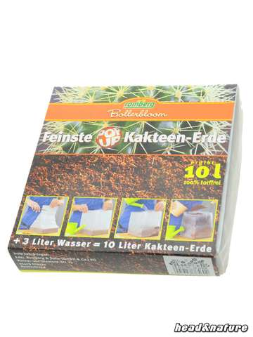 PopUp Soil for Cacti, 10l pack, compressed