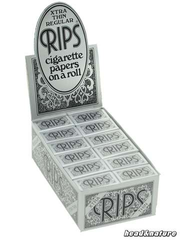 Rips Rolls Xtra Thin Regular - 24 x