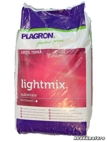 Plagron Light Mix with perlite, 50 liters