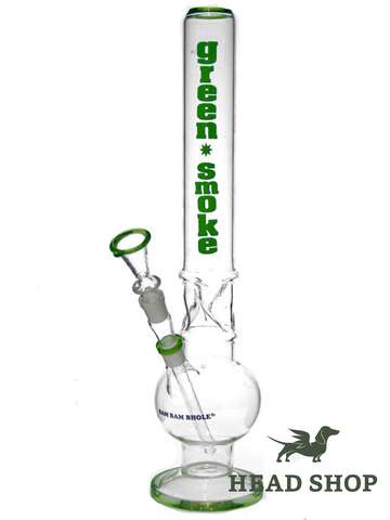 Ice Bong Green Smoke - 18,8