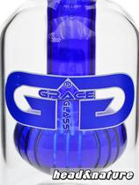 Grace Glass Precooler with keg percolator 14.5 blue #1