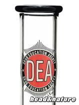 DEA boxed bong straight ICE - 45cm 5mm #2