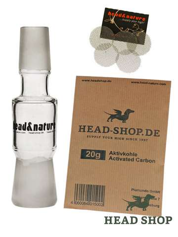 Activated Charcoal Beginner Kit 18.8 mm