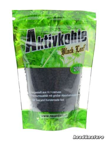 Black Leaf activated carbon 20g