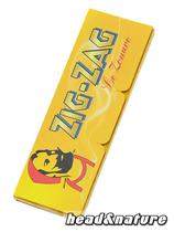 "Zig Zag ""Le Zouave - 606"" yellow - 50 Leaves #0"