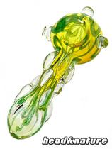 "Spoon Glass Bubbler ""Entangling Tangle"" #1"