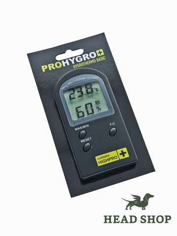 Digital Thermometer / Hygrometer GHP Basic