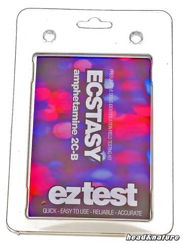 eztest Tube for Ecstasy, (Meth)Amphetamine, 2C-B and more