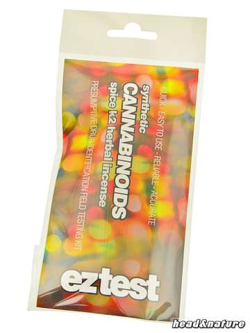eztest Tube for synthetic Cannabinoids: Spice, K2 and Herbal Incense