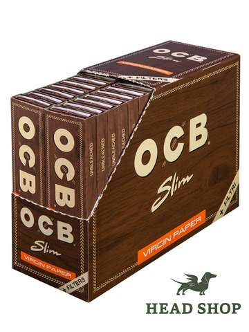 OCB Virgin Slim with filter tips - 32 x