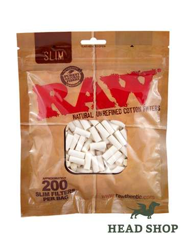 RAW Cigarette Filters Slim 6mm