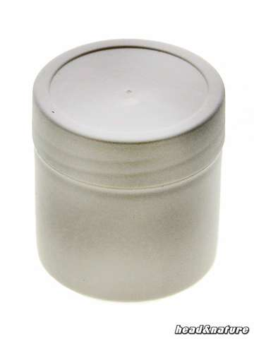 White plastic Capsule, 35 ml