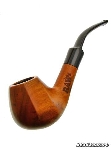 RAW Tobacco Pipe made from eco-friendly wood