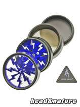 Thorinder grinder with window black / blue Mini #1