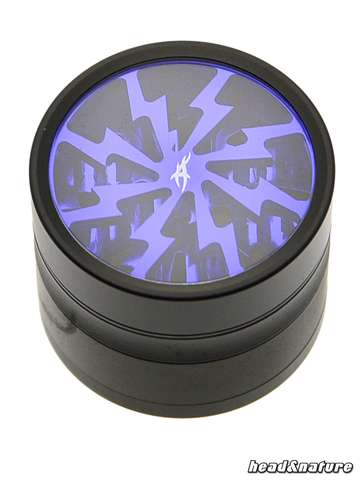 Thorinder grinder with window black / blue Mini