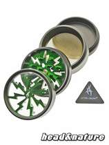 Thorinder grinder with window black / green Mini #1