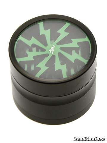 Thorinder grinder with window black / green Mini