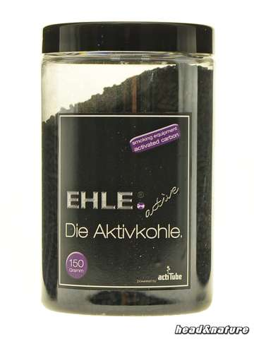 EHLE activated carbon powered by Actitube - 150g