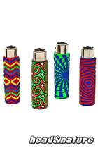 Clipper lighter with silicone cover - Geometric #0