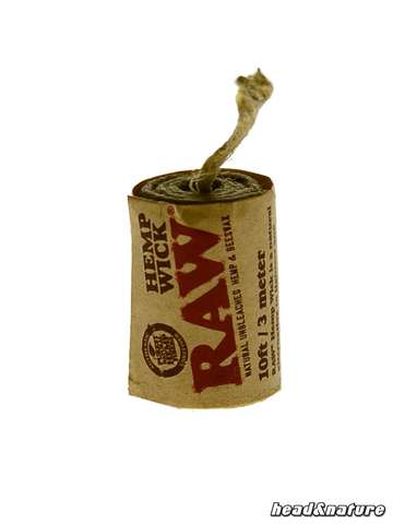 RAW Hemp Wick 3m