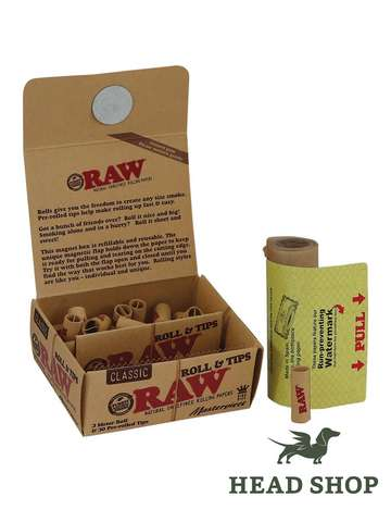 Raw Masterpiece Roll & Tips