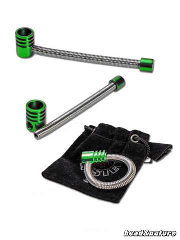 Twister Spring Pipe S Green