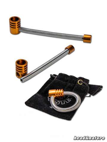 Twister Spring Pipe S Orange