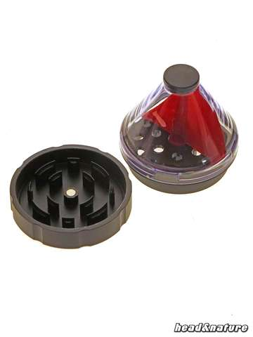 Funnel Grinder 50mm red