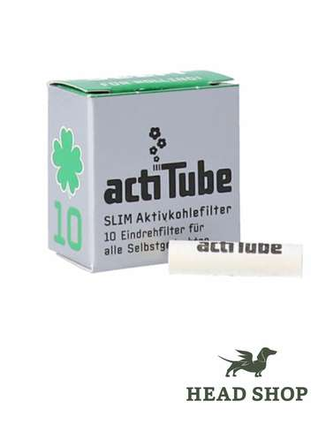 actiTube activated Carbon Filters Slim 10 pieces