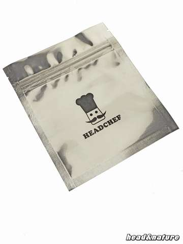 HeadChef Smell Proof Zig Bags 10cm