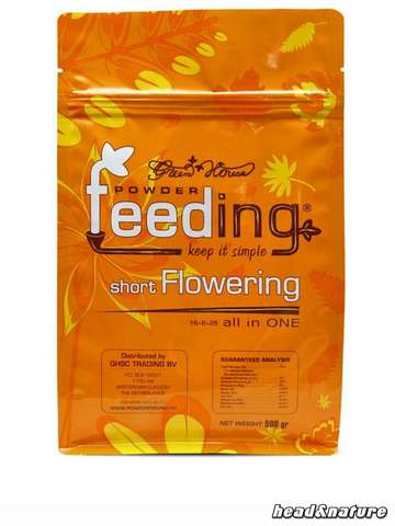 Green House Feeding short flowering 500g